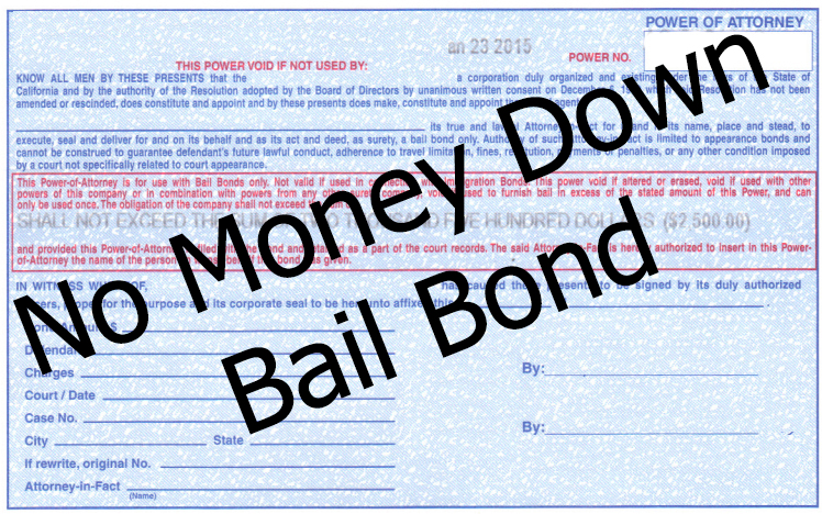No Money Down Bail Bonds in Las Vegas