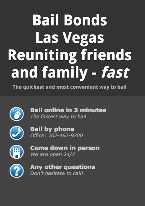 Fast Bail Bonds Las Vegas, Nevada